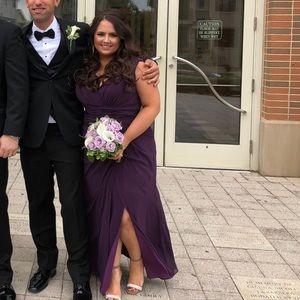 Watters Antonia 7548 Bridesmaid Dress in Plum